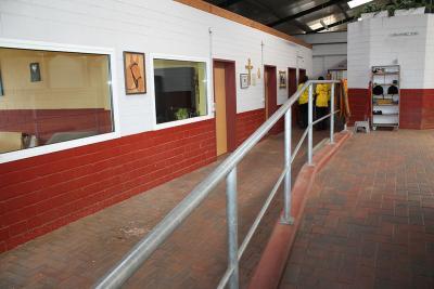 Eingangsbereich mit Büros